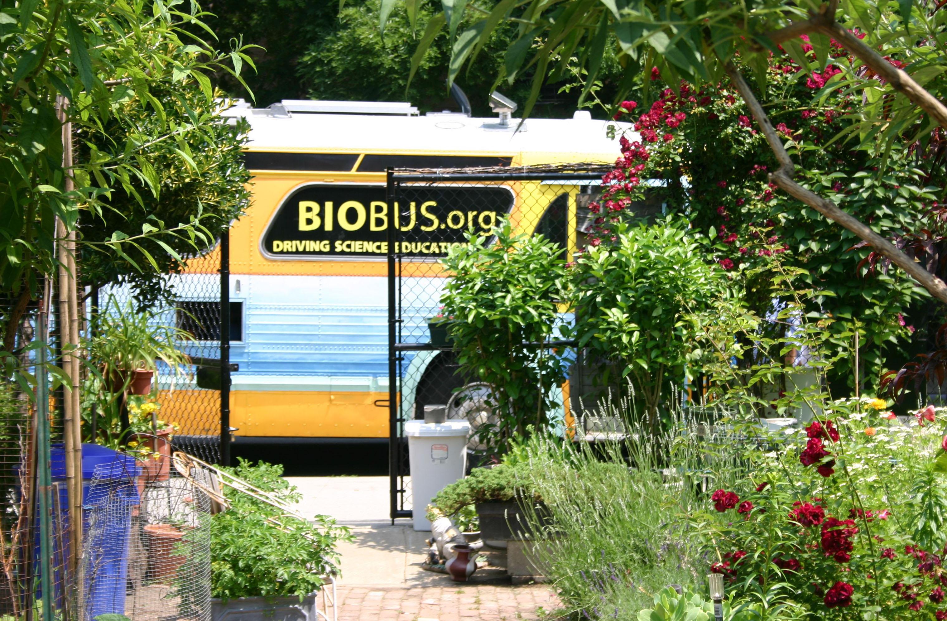 BioBus at Earth Day New York