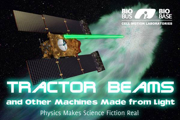 Tractor Beams, and Other Machines Made from Light