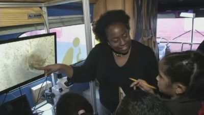 Chief Scientist Latasha Wright is NY1's New Yorker of the Week!