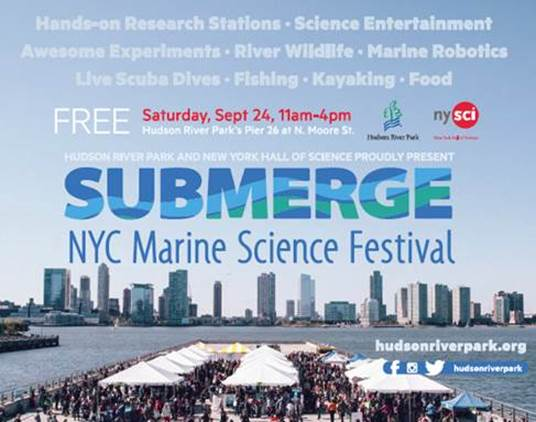 BioBus at Submerge Marine Science Festival 2016