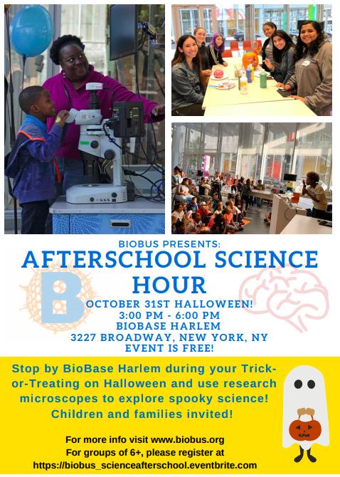 October After School Science Hour!