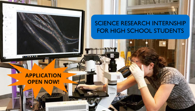 Apply by March 15th to be a BioBus Junior Scientist!